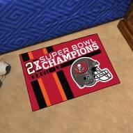 Tampa Bay Buccaneers Super Bowl LV Champions Dynasty Starter Rug