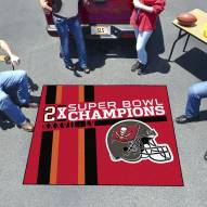 Tampa Bay Buccaneers Super Bowl LV Champions Dynasty Tailgate Mat