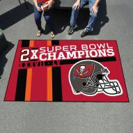 Tampa Bay Buccaneers Super Bowl LV Champions Dynasty Ulti-Mat Area Rug