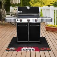 Tampa Bay Buccaneers Super Bowl LV Champions Grill Mat