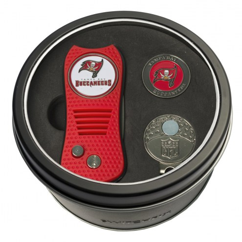 Tampa Bay Buccaneers Switchfix Golf Divot Tool, Hat Clip, & Ball Marker