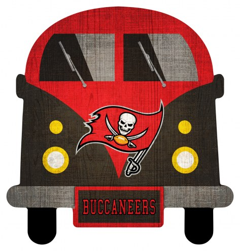 Tampa Bay Buccaneers Team Bus Sign