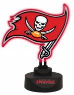 Tampa Bay Buccaneers Team Logo Neon Light
