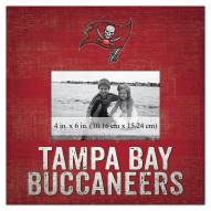 """Tampa Bay Buccaneers Team Name 10"""" x 10"""" Picture Frame"""