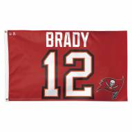 Tampa Bay Buccaneers Tom Brady Deluxe 3' x 5' Flag