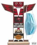 Tampa Bay Buccaneers Totem Mask Holder