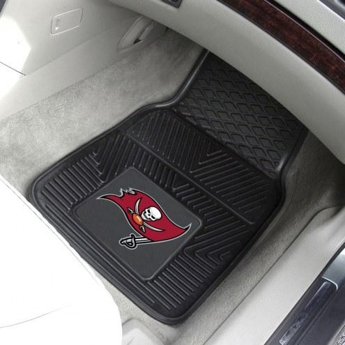 Tampa Bay Buccaneers Vinyl 2-Piece Car Floor Mats