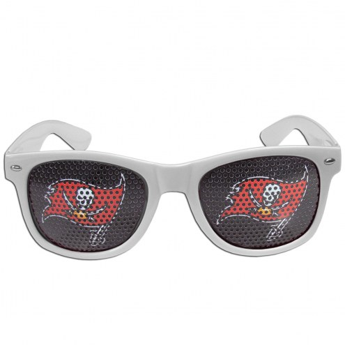 Tampa Bay Buccaneers White Game Day Shades