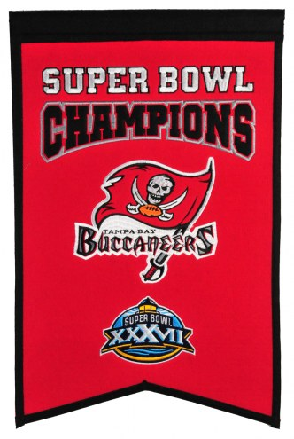 Tampa Bay Buccaneers Champs Banner