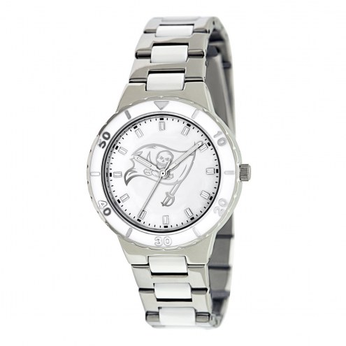 Tampa Bay Buccaneers Womens Pearl Watch