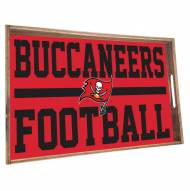 Tampa Bay Buccaneers Wooden Serving Tray