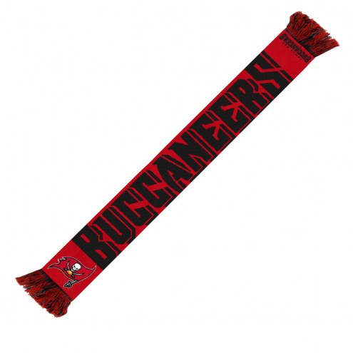 Tampa Bay Buccaneers Wordmark Scarf