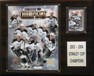 """Tampa Bay Lightning 12"""" x 15"""" 2004 Stanley Cup Champions Plaque"""