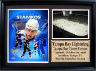 "Tampa Bay Lightning 12"" x 18"" Steven Stamkos Photo Stat Frame"