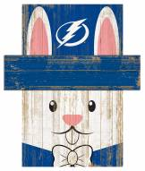 "Tampa Bay Lightning 19"" x 16"" Easter Bunny Head"