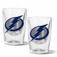 Tampa Bay Lightning 2 oz. Prism Shot Glass Set