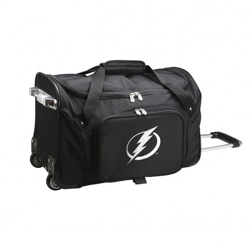 "Tampa Bay Lightning 22"" Rolling Duffle Bag"