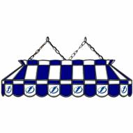 """Tampa Bay Lightning 40"""" Stained Glass Billiard Lamp"""