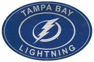 "Tampa Bay Lightning 46"" Heritage Logo Oval Sign"