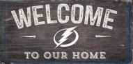 """Tampa Bay Lightning 6"""" x 12"""" Welcome Sign"""