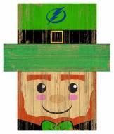 "Tampa Bay Lightning 6"" x 5"" Leprechaun Head"