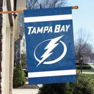 Tampa Bay Lightning Applique Banner Flag