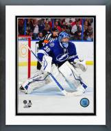 Tampa Bay Lightning Ben Bishop Action Framed Photo