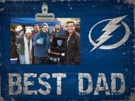 Tampa Bay Lightning Best Dad Clip Frame