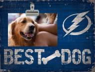 Tampa Bay Lightning Best Dog Clip Frame