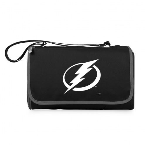 Tampa Bay Lightning Black Blanket Tote