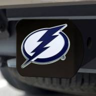 Tampa Bay Lightning Black Color Hitch Cover