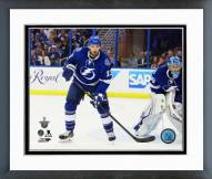 Tampa Bay Lightning Cedric Paquette Playoff Action Framed Photo
