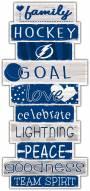 Tampa Bay Lightning Celebrations Stack Sign