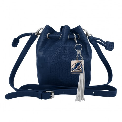 Tampa Bay Lightning Charming Mini Bucket Bag