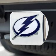 Tampa Bay Lightning Chrome Color Hitch Cover