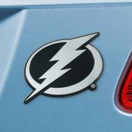 Tampa Bay Lightning Chrome Metal Car Emblem