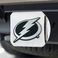 Tampa Bay Lightning Chrome Metal Hitch Cover
