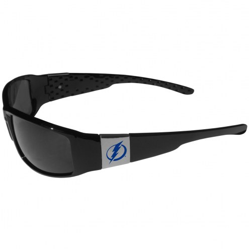 Tampa Bay Lightning Chrome Wrap Sunglasses