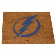 Tampa Bay Lightning Colored Logo Door Mat