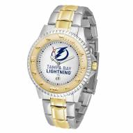 Tampa Bay Lightning Competitor Two-Tone Men's Watch