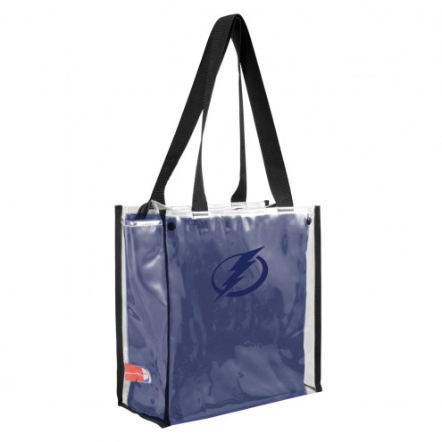 Tampa Bay Lightning Convertible Clear Tote