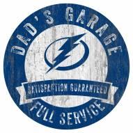 Tampa Bay Lightning Dad's Garage Sign