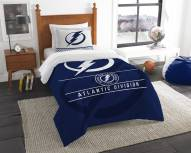 Tampa Bay Lightning Draft Twin Comforter Set