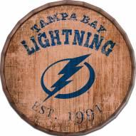 """Tampa Bay Lightning Established Date 16"""" Barrel Top"""