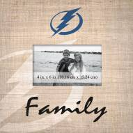 Tampa Bay Lightning Family Picture Frame