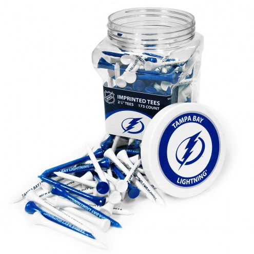 Tampa Bay Lightning 175 Golf Tee Jar