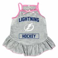 Tampa Bay Lightning Gray Dog Dress