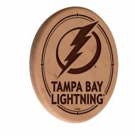 Tampa Bay Lightning Laser Engraved Wood Sign