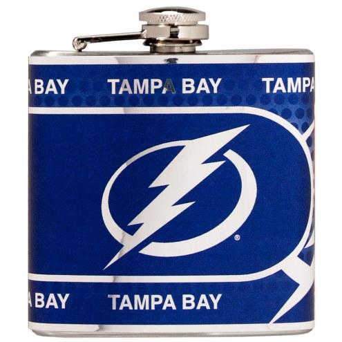Tampa Bay Lightning Hi-Def Stainless Steel Flask