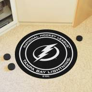 Tampa Bay Lightning Hockey Puck Mat